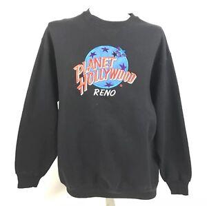 Planet-Hollywood-Mens-Crewneck-Sweatshirt-Reno-Streetwear-Vintage-90s-XL