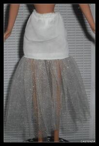 LINGERIE BARBIE DOLL MATTEL HOLIDAY PINK SLIP SKIRT BOTTOM ACCESSORY CLOTHING