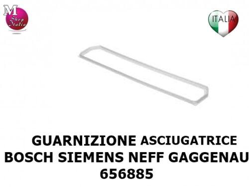 Guarnizione filtro Setaccio asciugatrice Bosch Siemens Neff Gaggenau 00656885
