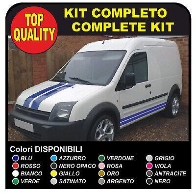 NERO ADESIVI PER Van grafiche furgone adesivi decalcomanie strisce CAMPER van e furgone