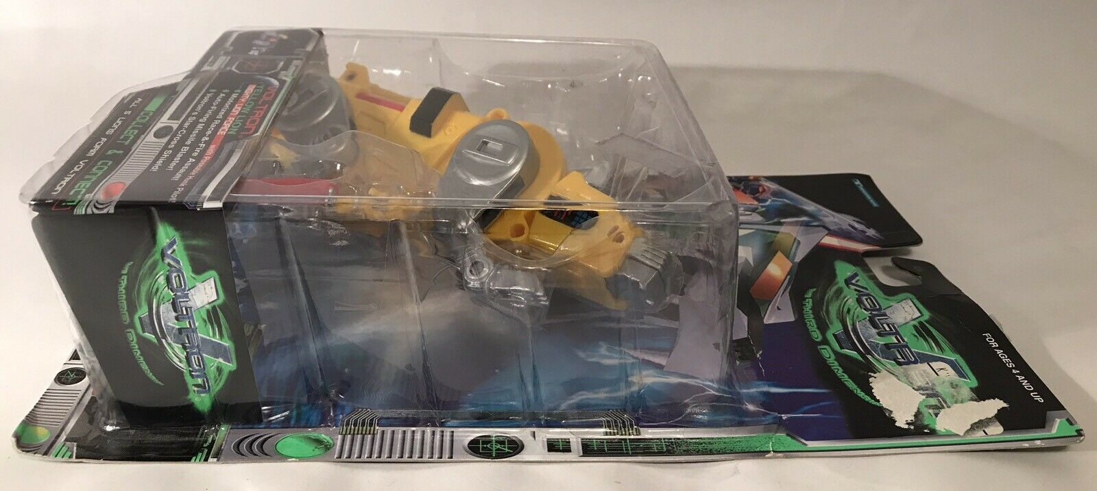 Voltron Third 3rd Dimension Dimension Dimension Yellow Lion 12  Figure 1998 Trendmasters Complete e10f63