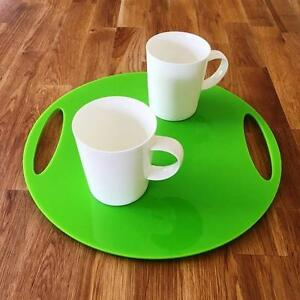 Round-Flat-Serving-Tray-Lime-Green-Acrylic-3mm-Thick-32cm-12-5-034-Diameter