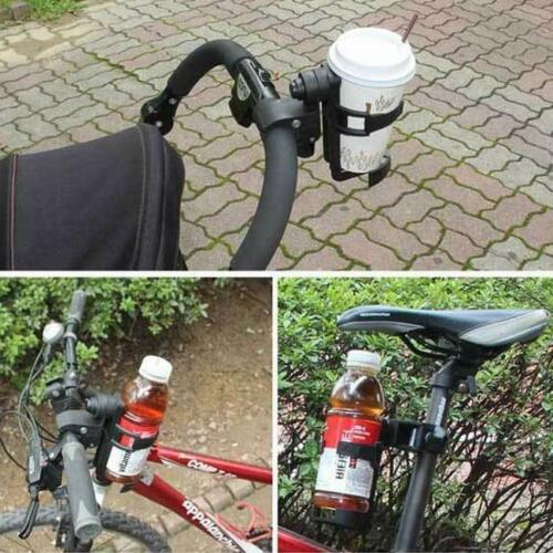 Universal Milk Bottle Cup Holder for Stroller Pushchair Buggy Pram Bicycle New Q