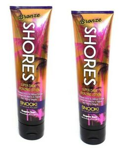 Lot 2 Supre Snooki Bronze Shores Super Dark Bronzing