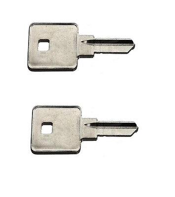 FIC Leo Key blank cut to codes 001-050 Fastec Leonardo new series
