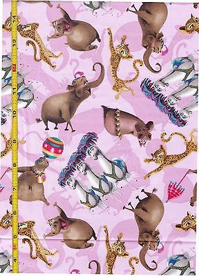 Disney Madagascar 3 Circus Stars Girls bty PRICE REDUCED