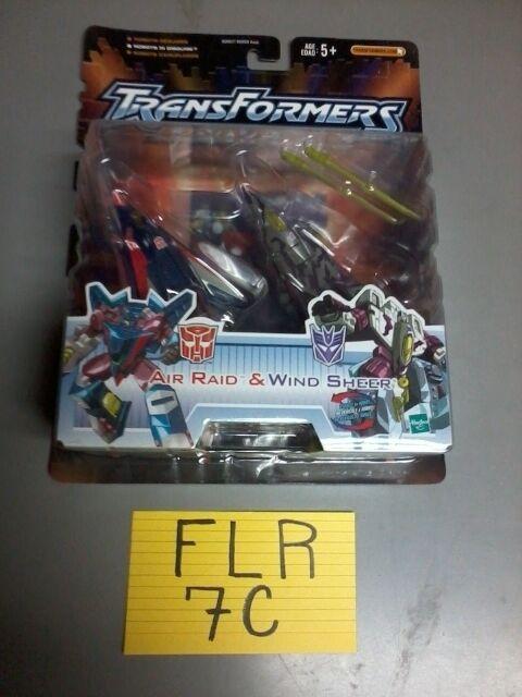 Transformers Universe Airraid & Windsheer  NEW FREE SHIP US