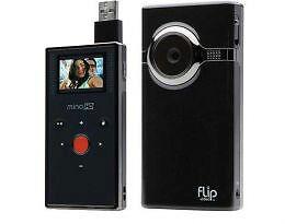 pure digital flip video minohd f460 4gb camcorder f460b black brand rh ebay com cisco flip video camera m3160 manual Cisco Flip Batteries