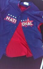 MLB Majestic Cool Base 2014 All Star Game National Baseball Jersey Size 48