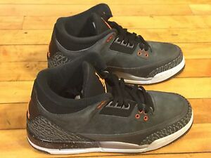 2d046e43219 NIKE AIR JORDAN 3 626968-040 SIZE6.5Y FEAR WC3 BC3 DOERNBECHER ...