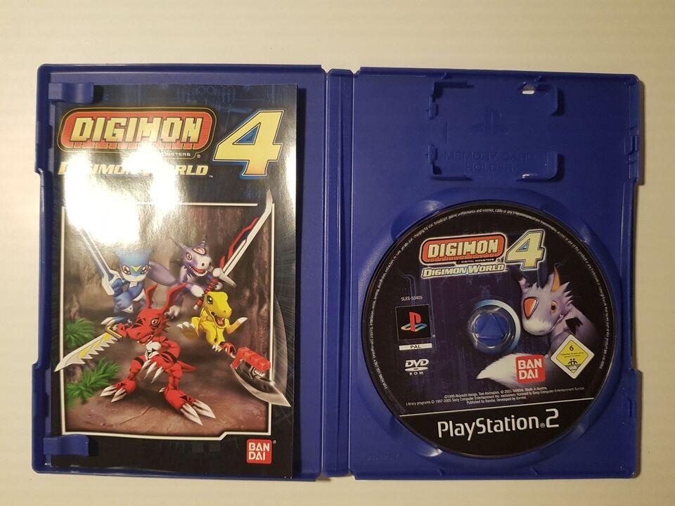 Digimon World 4, PS2