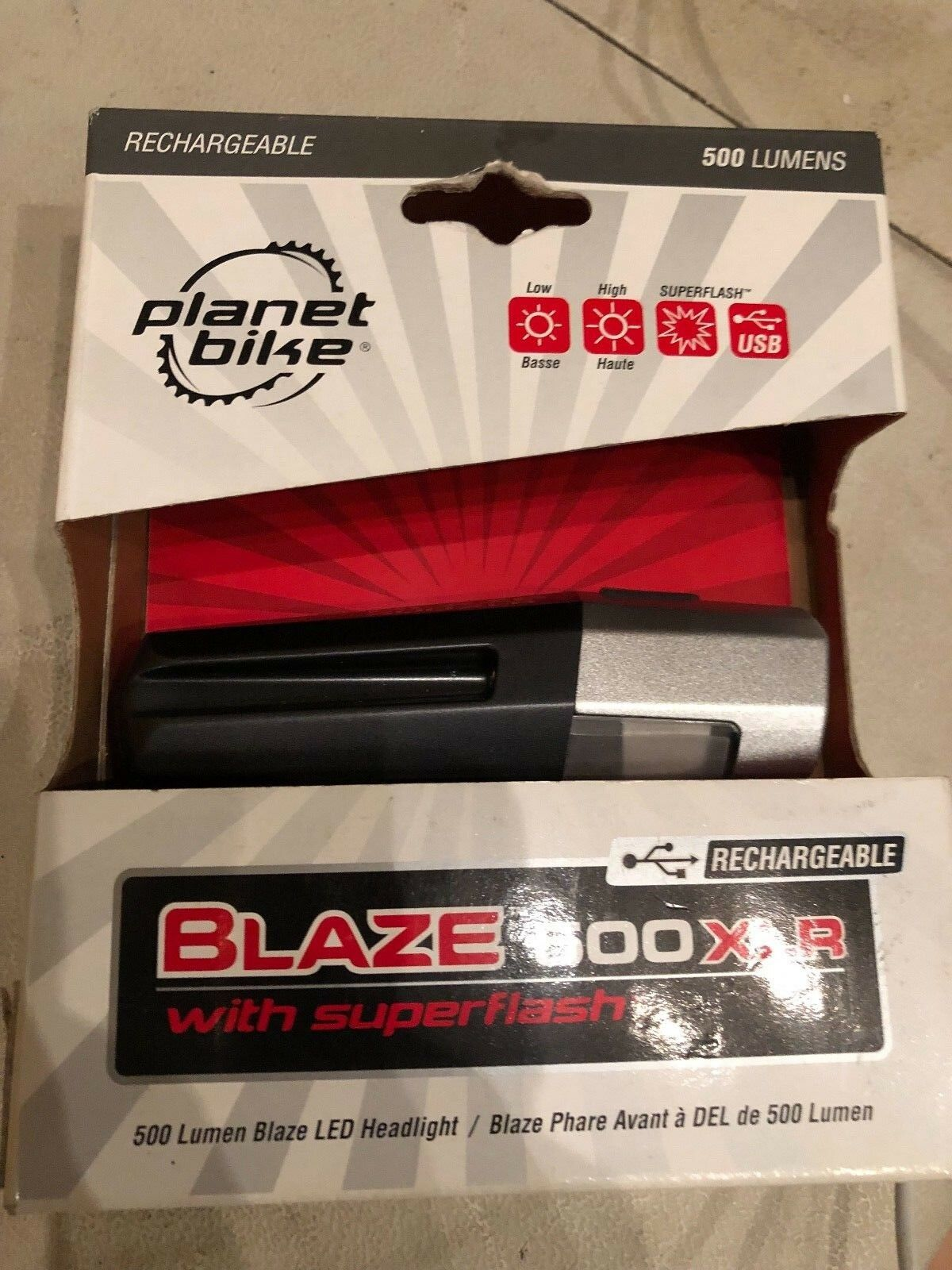 Planet bike blaze 500  XLR  online-shop