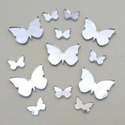 Decorative Big Wing Butterfly Bundle Acrylic Mirrors (Several Colours Available)