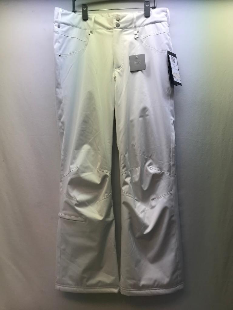 Nils Barbara Snow Ski Pant White Size 12 NEW