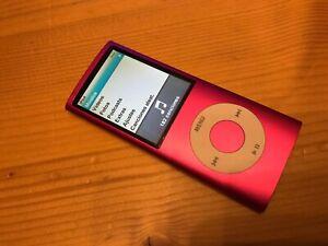 Detalles de Apple Ipod Nano 4ª Generación Model A1285 EMC No.2287 - 8GB Rosa
