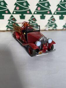 1932 Buick Feuer Motor mit Lichtern Weihnachten Hallmark Andenken Deko Feder