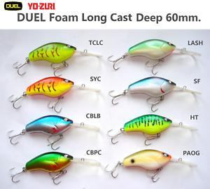 Duel-Yo-Zuri-Long-Cast-Court-Queue-Deep-60mm-F839-Owner-Leurre-de-Peche-Ferme