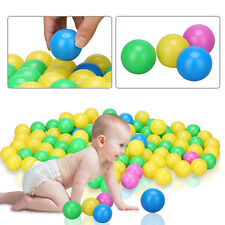 100pc/set Colorful Children Ocean Ball Swim Pit Playing Toy Baby Gift Plastic GL