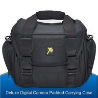 Padded Medium Camera Bag Case for Nikon D5300 D5200 D3300 D3200 D7000 SLR Camera