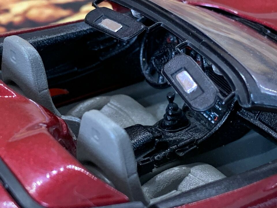 Modelbil, Bburago Chevrolet Corvette, skala 1:24