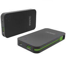 NINETEC 6.000mAh USB Power Bank mit integriertem Ladekabel NT-608