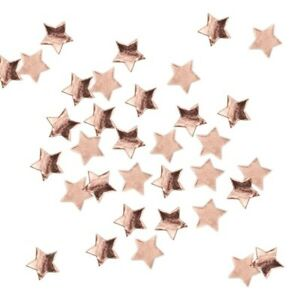 Amscan 14g Metallic RED STAR Stardust Foil Table Confetti Party Sprinkles
