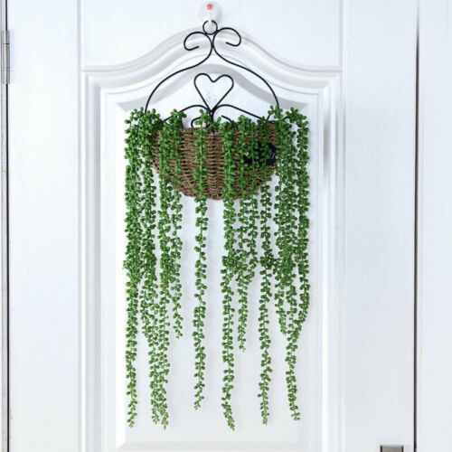 2x Fake Succulent String of Pearls Artificial Hanging Plant Wed Party Home Decor