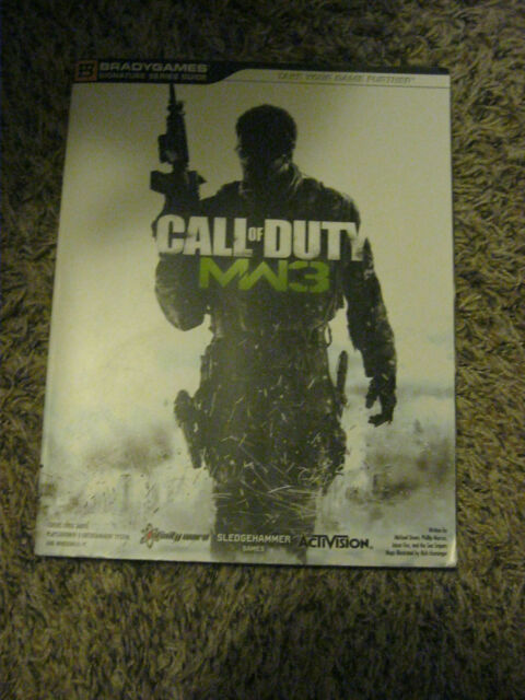 Call of duty modern warfare 3 mw3 official strategy guide all plat.
