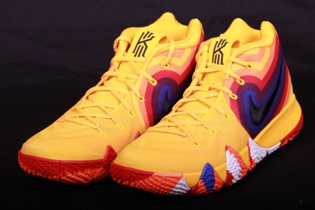 huge selection of 64bba 1748e Nike Kyrie 4 70s Uncle Drew Decades Pack Yellow Basketball Shoe 943806 700  Sz 13