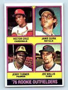 1976-Topps-Hector-Cruz-Jamie-Quirk-Jerry-Turner-Joe-Wallis-598