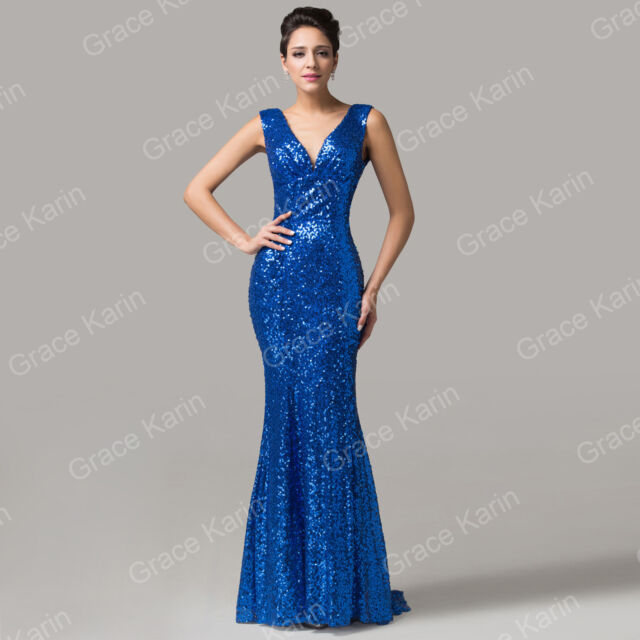 BIG SALE Women Evening Fishtail Dress Pageant Homecoming Cocktail Party GK Gowns