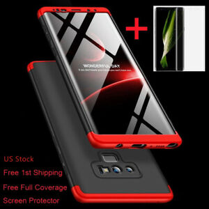 SLIM SHOCKPROOF 360° Case + Screen Protector For Samsung Galaxy Note 9/8/S9 Plus