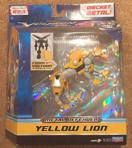 Playmates-Dreamworks-Voltron-Legendary-Defender-Yellow-Lion-Diecast-Metal-Figure