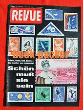 REVUE 1962 Nr. 22 (3.6.62): Motiv-Briefmarken sammeln / Ist der Jazz krank?