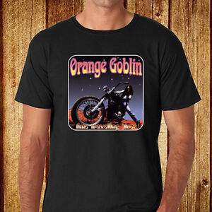 New-Orange-Goblin-Heavy-Metal-Rock-Band-Men-039-s-Black-T-Shirt-Size-S-to-3XL