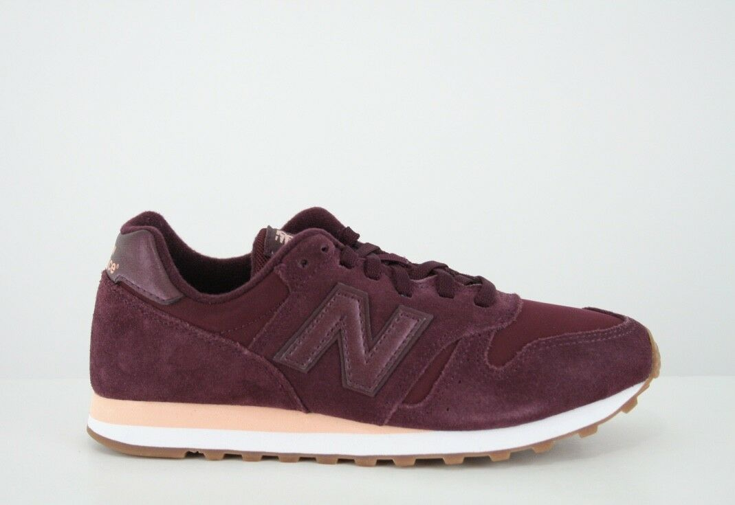 New Balance Damens''s 373 373 373 Trainers Burgundy - UK 5 d12fd4