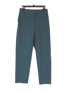 Eileen Fisher size Small pants teal slouchy ankle pants S NWOT