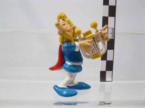 Troubadix mit Harfe  60044 Asterix Serie MD Toys 1995