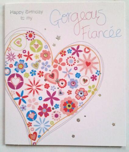 B)Cartes Joyeux Anniversaire ma belle Fiancée  !