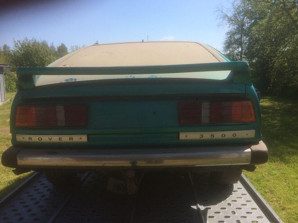 Rover SD1, 3,5 Vanden Plas aut., Benzin