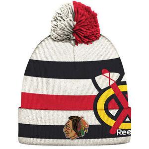 Image is loading CHICAGO-BLACKHAWKS-2017-NHL-WINTER-CLASSIC-REEBOK-CUFFED- c8c231ce7
