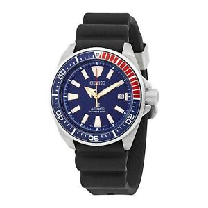 NEW-Seiko-Prospex-Diver-039-s-200m-034-Samurai-034-Pepsi-Bezel-Watch-SRPB53K1