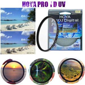 Hoya-Filtre-pour-Objectif-77mm-UV-pour-objectifs-appareil-photo-DSLR