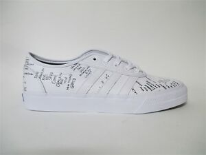 outlet store 4c719 e9b06 Image is loading Adidas-Skate-Adi-Ease-Classified-White-Black-Sz-