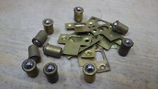 """10 x 5/16"""" 5.8mm SMALL BRASS BALL CATCH BULLET TYPE FRICTION SPRUNG CATCHES nos"""