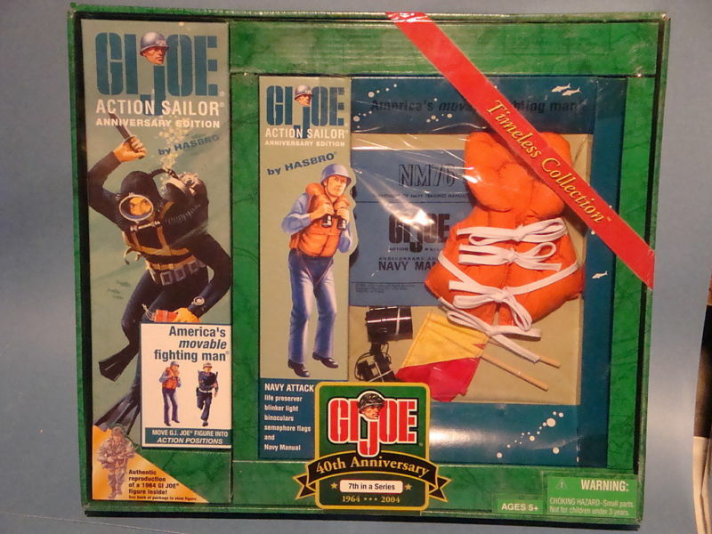 GI JOE 40TH ANNIVERSARY ACTION SAILOR GIFT SET