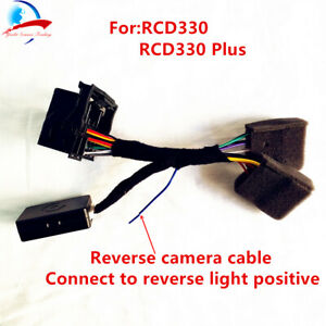 details about rcd330 plus plug&play iso quadlock adapter with canbus decoder  simulator for vw