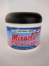 Miracle Dental Care Tooth Powder All Natural Herbs 85g