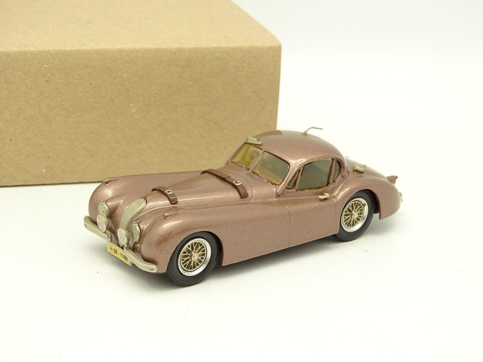 Western Models Kit Monté Métal 1 43 - Jaguar XK120 Montlhery 1958
