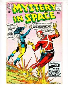 Mystery-In-Space-85-VG-4-0-8-63-Adam-Strange-034-Riddle-of-the-Runaway-Rockets-034